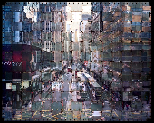 Woven Photos of Cities by Seung Hoon Park