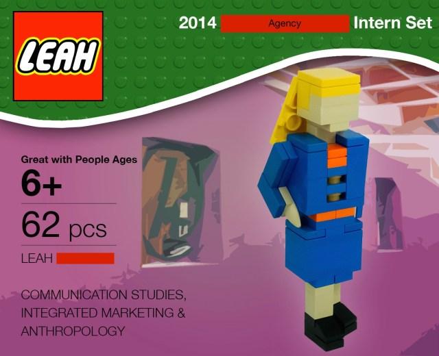 Lego Leah Skills