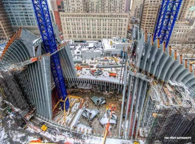WTC - 66 Oculus Segments, 76 Upper Portals