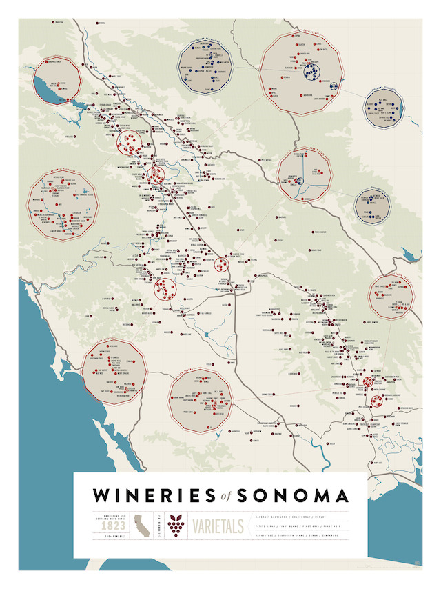 Wineries of Sonoma