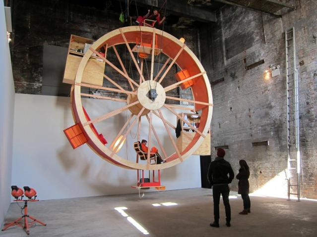 Artists Living in a Hamster Wheel
