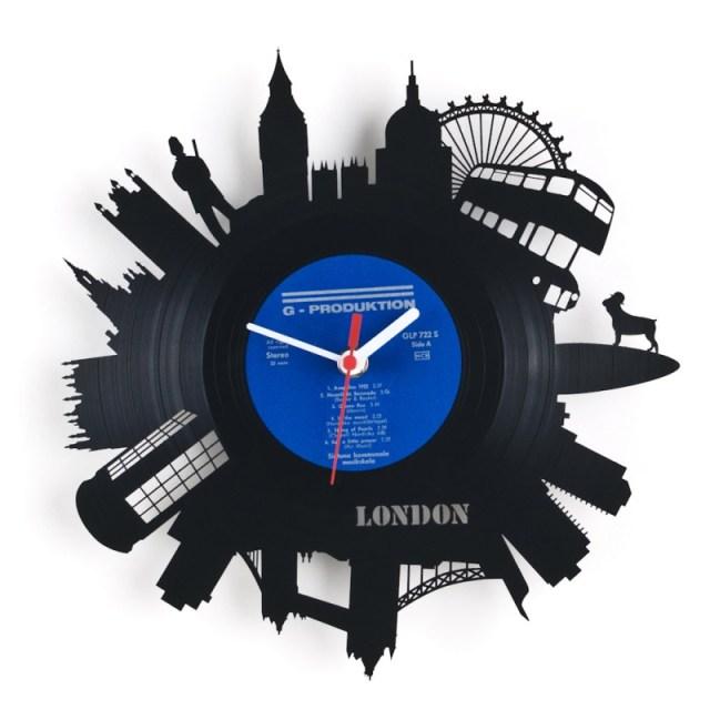 Re Vinyl Wall Clock