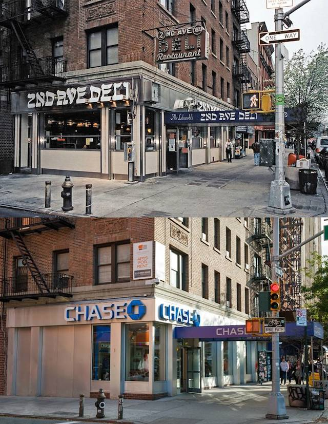 2nd Ave Deli > Chase Bank 2nd Ave