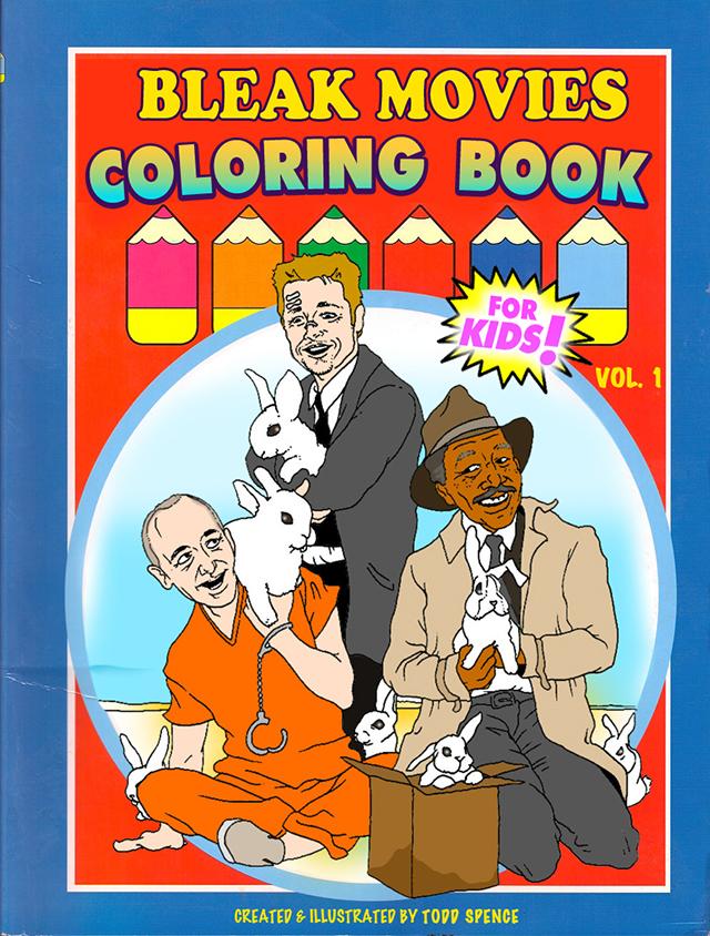 Bleak Movie Endings Coloring Book