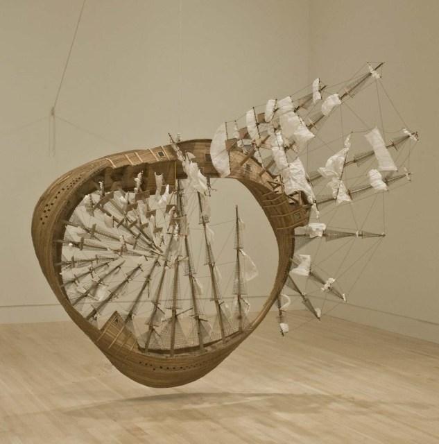 Mobius Ship by Tim Hawkinson