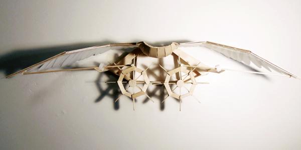 Flapping Bird Kinetic Sculpture by Joyce Lin