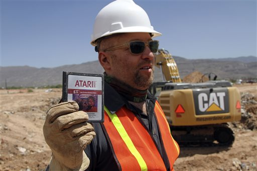 Atari Video Game Burial