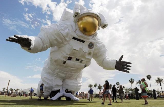 Escape Velocity Coachella Astronaut