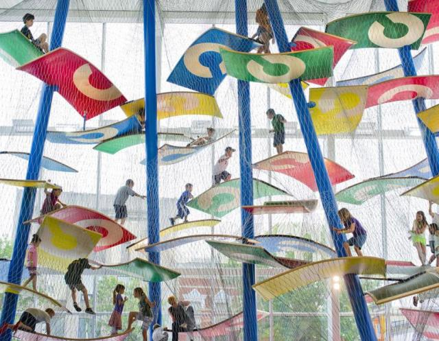 Luckey Climbers Playgrounds