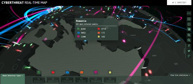 Kaspersky Lab Map