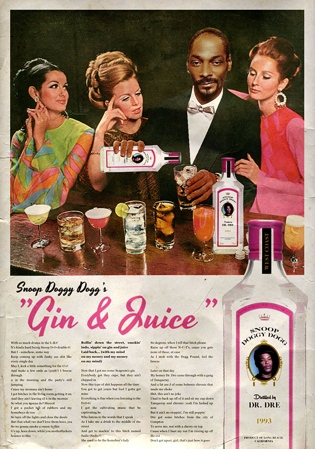 Snoop Doggy Dogg Gin and Juice