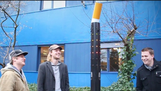 Fumo Interactive Cigarette Disposal Device