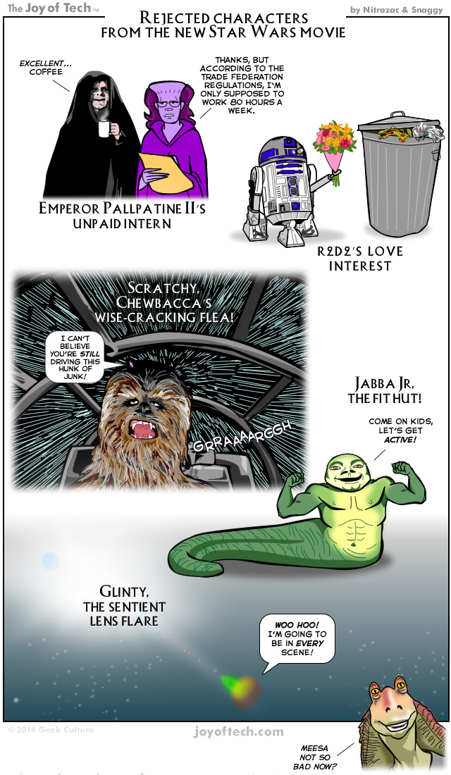 Rejected Characters From the New Star Wars Movie