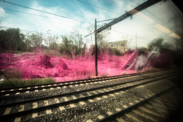 psychylustro, 7 Colorful Outdoor Installations Along Rail Lines in Philadelphia