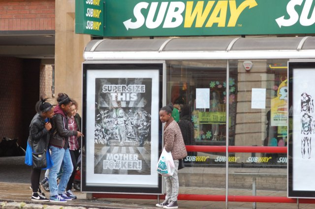 Brandalism Anti-Billboard Campaign Takes Over 365 Ads in 2 Days