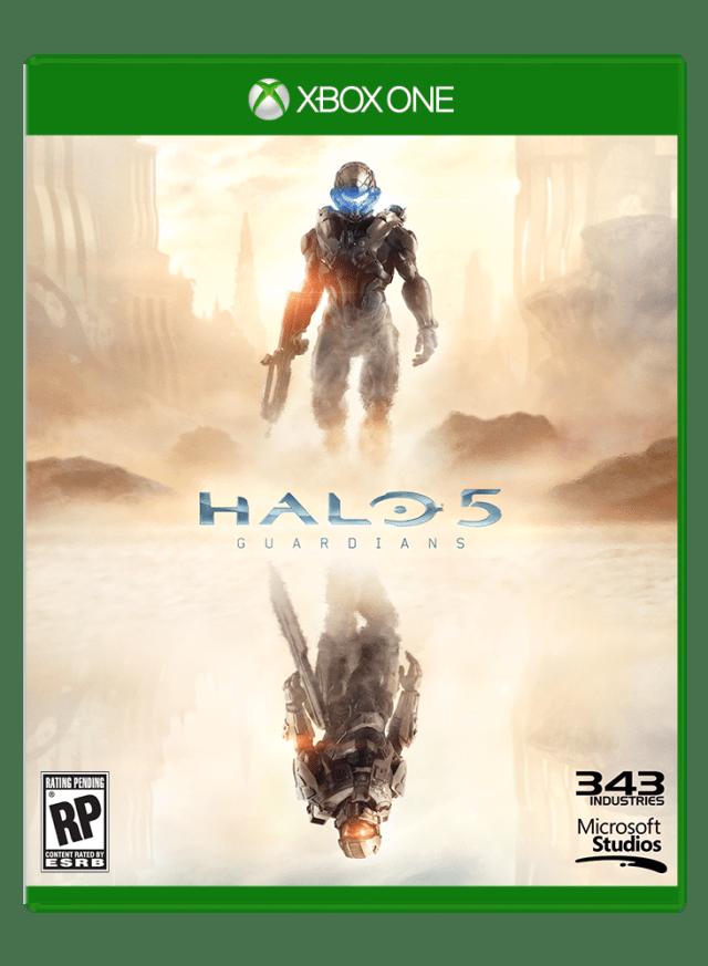 Halo 5: Guardians Xbox One Box Art