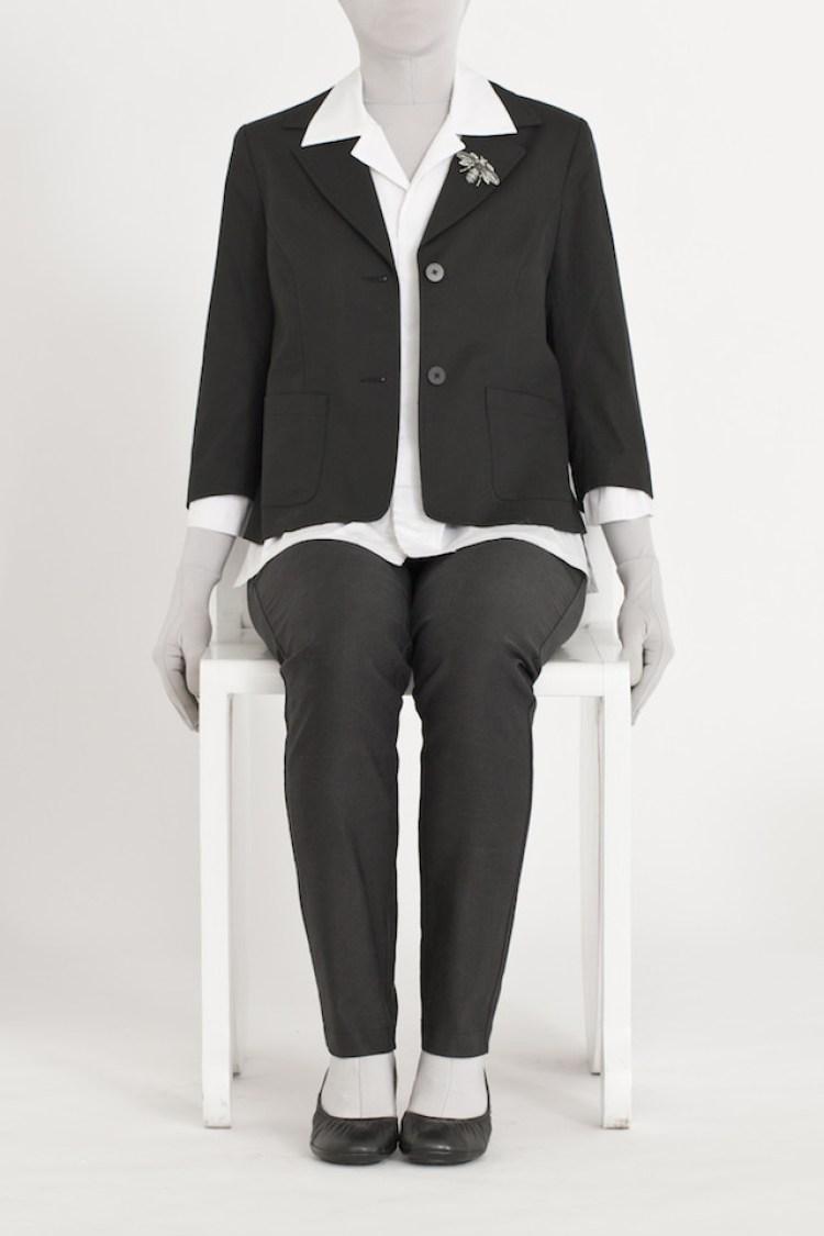 Women's Skinny Black Pant