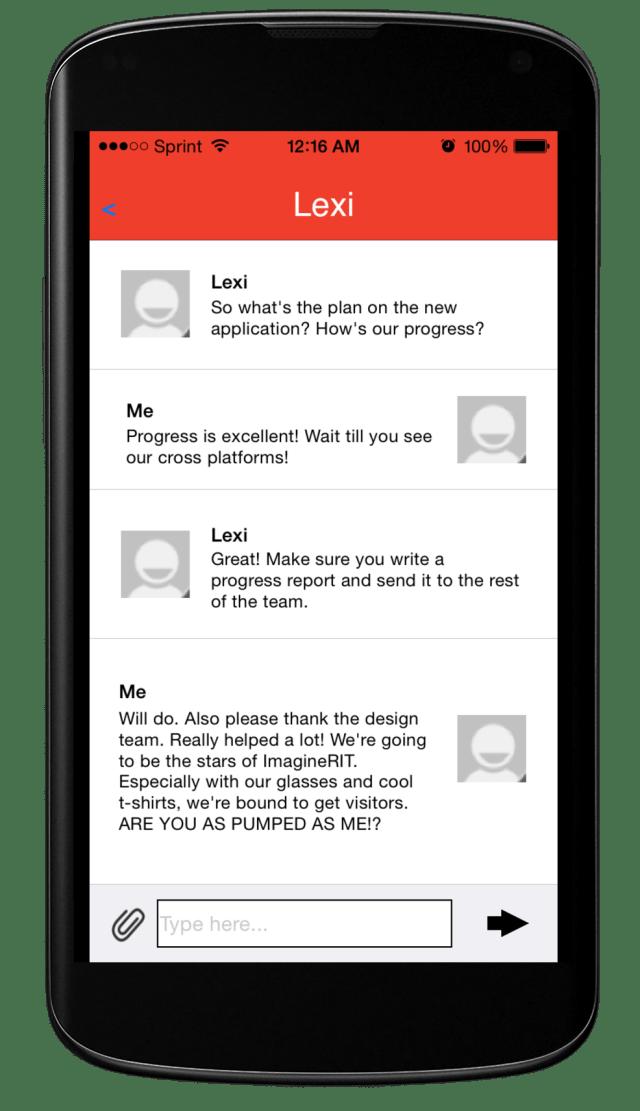 Chadder Phone App