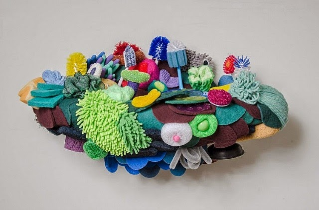 Coral Reef Sculptures by Lynn Aldrich