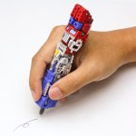 Transformers Pens, A Series of Toys That Change From 'Transformers' Robots to Writing Instruments