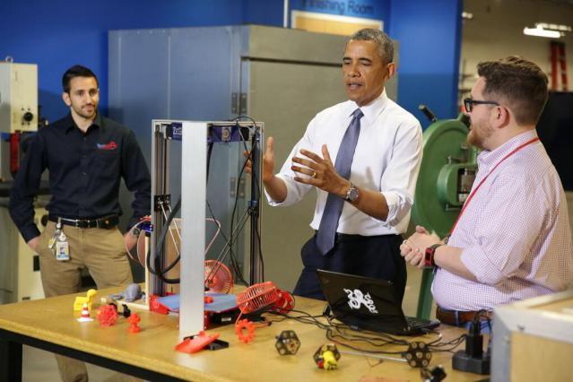 President Obama Hosts First Ever White House Maker Faire