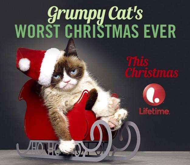 Grumpy Cat's Worst Xmas Ever
