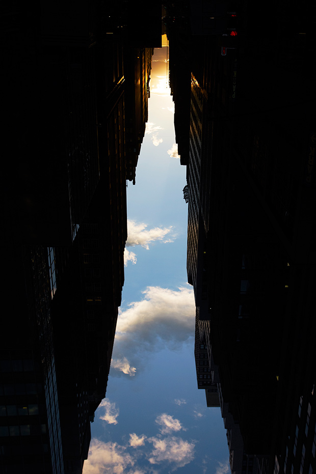 Buildings Made of Sky by Peter Wegner
