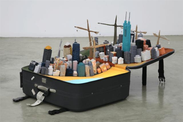 Portable City by Yin Xiuzhen