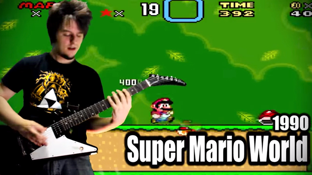 A Metal Tribute to the History of Video Games