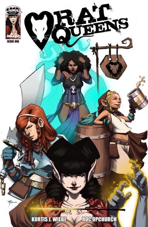 Rat Queens Comic