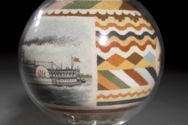 Astonishingly Detailed 19th Century Sand Art in Jars by Artist Andrew Clemens