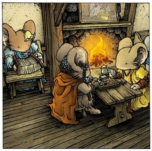 Mouse Guard: Swords & Strongholds
