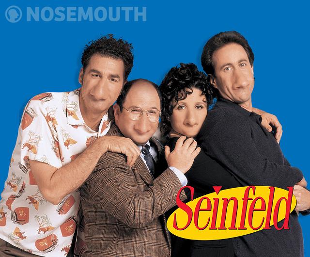 Nosemouth Seinfeld