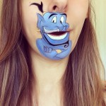 Makeup Artist Laura Jenkinson Recreates Popular Cartoon Characters on Her Mouth