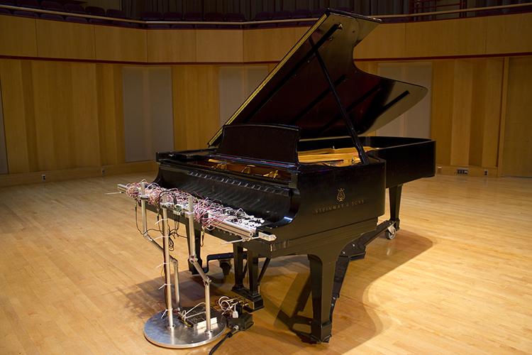 Cloud Piano by David Bowen