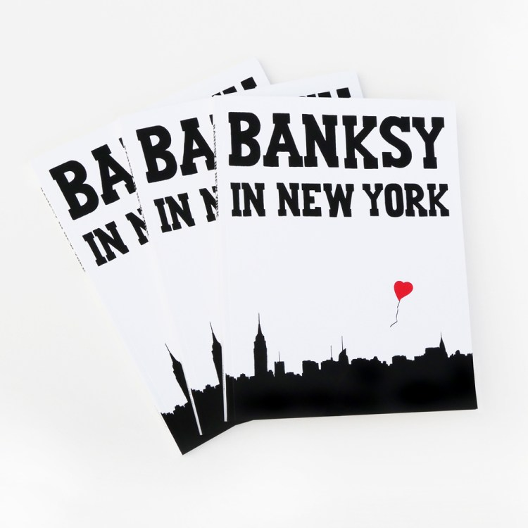 Banksy in New York by Ray Mock