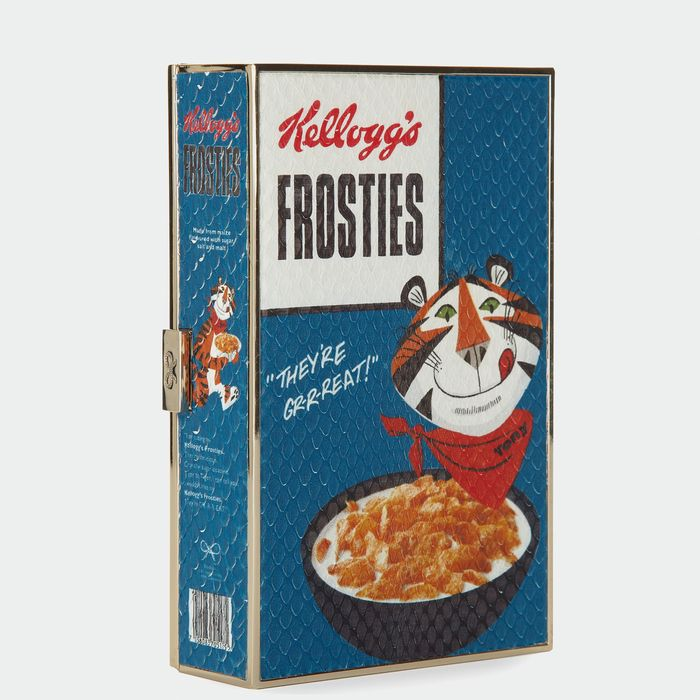 Luxurious Clutch Bags That Look Like Vintage Cereal Boxes