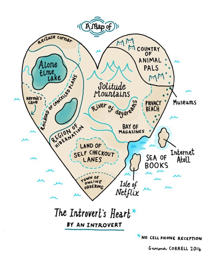 Introvert's Heart