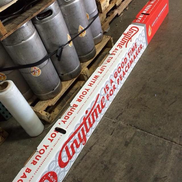 Peacemaker 99-Pack of Beer on Floor