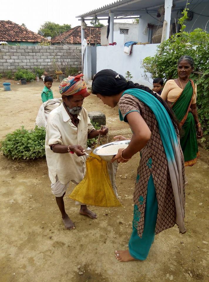 Rice Bucket Challenge Navya
