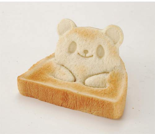 Pop-Up Panda Bread Form
