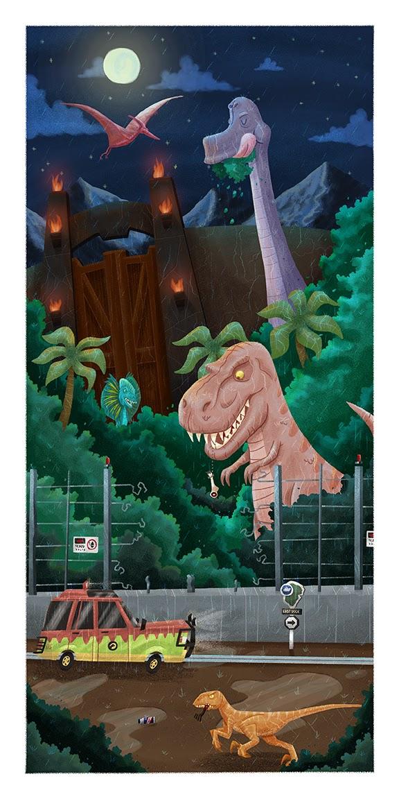 Dino DNA by Ian Glaubinger