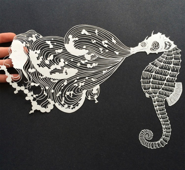 Cut Paper Art by Maude White