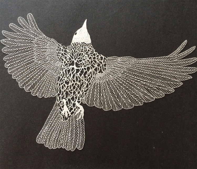 Cut Paper Art by Maude White