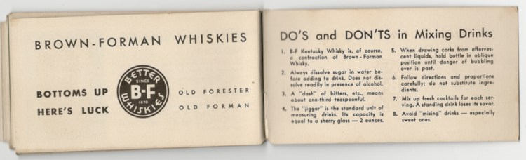 Brown-Forman Do's and Don'ts