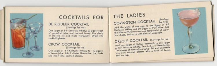 Cocktails for the Ladies