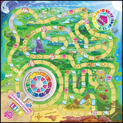 A 'My Little Pony' Edition of the Classic Board Game 'The ...