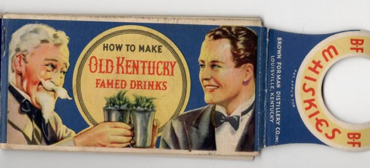 Old Kentucky Famed Drinks