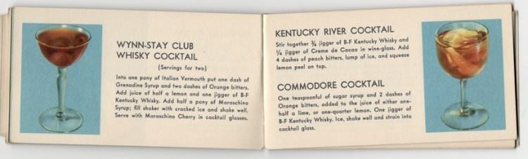 Wynn-Stay Club Whiskey Cocktail