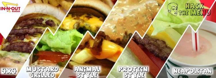 In-N-Out Burger Secret Menu